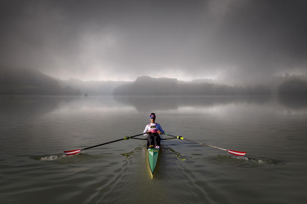 Triathlete Lisa Perterer